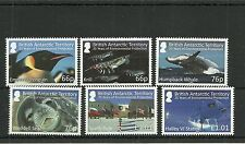 BRITISH ANTARCTIC TERRITORY 2016 ENVIROMENTAL PROTECTION SET  MNH