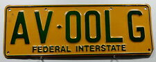 "TARGA Australia Act ""Federal Interstate"" 4387.."