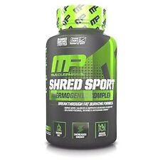 Musclepharm SHRED SPORT Fat Burner Weight Loss ENERGY 60 caps - NEW Shred Matrix
