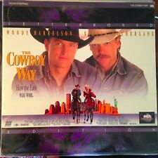 The Cowboy Way / Letterboxed  - LASERDISC  Buy 6 for free shipping