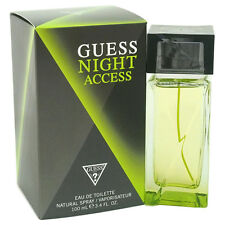 GUESS NIGHT ACCESS 3.4 oz EDT eau de toilette Men's Spray Cologne 100 ml  3.3