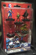 DC HEROCLIX EARTH 2 SUPERMAN BATMAN FAST FORCES 6 PACK NEW IN PACK #sfeb16-113