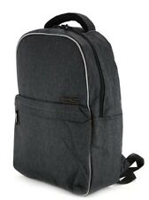 Carbon Sesto Gray DC Confidential Backpack~Laptop Sleeve NWT~MARKDOWN