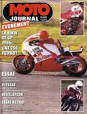 MOTO JOURNAL  695 Test YAMAHA XT 350 RDLC RD LC NORTON 500 Inter MANX PEUGEOT 85