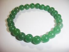 Green Aventurine 8mm Bracelet Chakra Crystal Balance Prayer Yoga Meditation