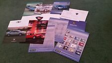 2002 PROTON UK 10 PART INFO PACK BROCHURE IMPIAN SATRIA WIRA inc E3 CITY SPECIAL