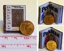 #1320# Minibuch - Teppiche der Welt - Puppenhaus-Puppenstube - M1:12