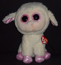 "TY BEANIE BOOS- DARIA the 9"" LAMB / SHEEP - MINT with MINT TAG (MEDIUM)"