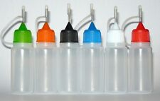 5 x 10ml Liquidflasche Nadelflasche Leerflasche Tropfflasche Öler Ölfläschchen
