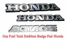 Gas Fuel Tank Emblem Badge Pair Honda CB125 S CB175 CB200 CL200 CL175 CL125 S110