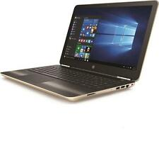 "HP Pavilion 15-aw084sa 15.6"" Laptop - Modern Gold 1 TB HDD AMD A9-9410 APU"