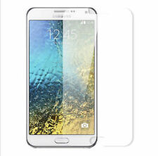 2x Clear Front Screen Protector Cover Film PLASTIC Samgsung Note 4 + micro cloth