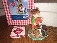 """My Little Kitchen Fairies """"PUPPY LOVE FAIRIE"""" 2012 NIB CHRISTMAS RARE"""