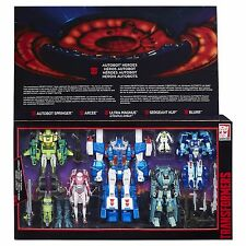 Transformers Generations Platinum Edition Autobot Heroes - NIB Perfect Condition