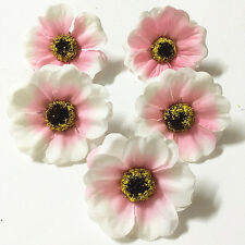8Pcs pink 50mm Artificial Flowers Cherry Blossoms Party Wedding Decoration