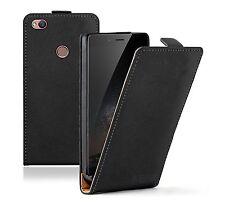 SLIM ZTE Nubia Z11 BLACK Leather Flip Case Cover For Mobile Phone