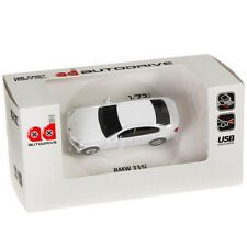 BMW 335i Sports Car USB Memory Stick Flash Pen Drive 8Gb - White