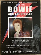 DAVID BOWIE-Inside BOWIE and The Spiders-Live Archive Footage-2 DiscDVD&BookSet