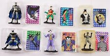 Batman Animated Series Lot CATWOMAN PENGUIN JOKER ROBIN Die-Cast Metal Set of 6