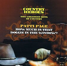 """PATTI PAGE """"The Greatest Hits Of Country"""" COUNTRY HEROES CD NEU & OVP 16 Tracks"""