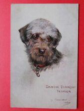 MAUD WEST WATSON  Illustratrice  :  Dandie Dinmont Terrier.