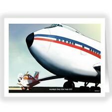 No.1 For Take Off Aviation Note Card - 18 Boxed Cards & Envelopes-14188b