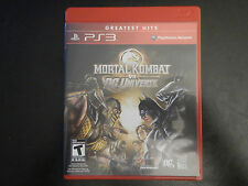 Mortal Kombat vs. DC Universe Greatest Hits (Sony PlayStation 3, 2008)