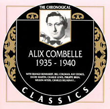 1935-1940 by Alix Combelle-CLASSICS CD NEW