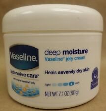 Vaseline Intensive Care Deep Moisture Jelly Cream For Very Dry Skin 7.10 oz New