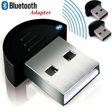 2PCS Mini USB Bluetooth  3Mbps 10M Dongle Dual Mode Wireless Adapter Kit NEW XT