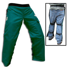 """CHAIN SAW SAFETY CHAPS FORESTER POULAN USERS,  BEST DEAL 4 PLY SHORT 35""""-37"""""""