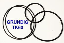 SET BELTS GRUNDIG TK 60 REEL TO REEL EXTRA STRONG NEW FACTORY FRESH TK60