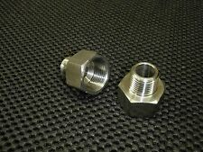 """STAINLESS STEEL ADAPTER REDUCER 3/8"""" FEMALE x 1/4"""" MALE NPT PIPE AR-037F-025M"""