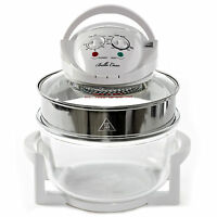 Large 17 Litre White Premium Convection Halogen Oven Cooker FREE £60 extra