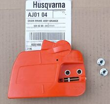Husqvarna 235 240 236 chainsaw new OEM bar side cover front adjuster bar nuts