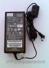 CISCO 48V 0,38A 18,24W 18,24 Watt Netzteil Ladegerät Kabel AC Adapter Charger