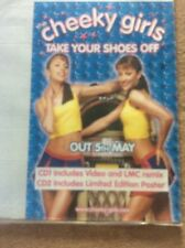The Cheeky Girls Take Your Shoes Off Pop CD Rock Promo Music Poster Memorabilia