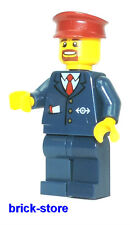 LEGO CHEMIN DE FER(60051) Train Personnel Conducteur(3677,7838,7839,7898,60052)