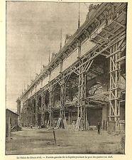 PARIS EXPOSITION UNIVERSELLE WORLD' FAIR PALAIS DU GENIE CIVIL IMAGE 1900