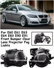M3 M5 Style Projector Fog Lights Lamps For 04-11 BMW E90 3-Series E60 5-Series
