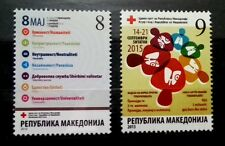Macedonia 2015 Charity stamps MNH