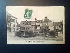C326. CPA. CONTRES. 45. LA FONTAINE JAVALET. 1908