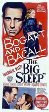 IL GRANDE SONNO THE BIG SLEEP LOCANDINA HUMPHREY BOGART LAUREN BACALL