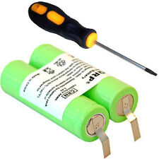 HQRP Battery for Philips Norelco 6886XLD 6887XL 7610X 7616X 7617X 7735X 7737X