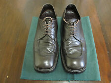 PRADA CHOCOLATE BROWN  LACE-UP SHOES CLASSIC PRADA  VINTAGE A/W 1994-95