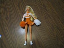 1996 University of Texas Cheerleader Barbie Doll- OUT OF BOX- ADULT OWNED