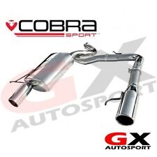 BM64 Cobra Sport BMW 3 Series 320D E92 Coupe 07-11 Dual Exit Rear Box Exhaust