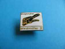 STRIPAX-PLUS  Wire Stripper Pin badge. Enamel. Tool.