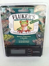 FLUKERS NEW Digital Thermometer Hygrometer Temp Humidity Terrarium Combo Monitor