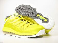 New AIR Max Lebron X Low 2013 - Sonic Yellow/SL-Cool Grey-True Yellow Size 8